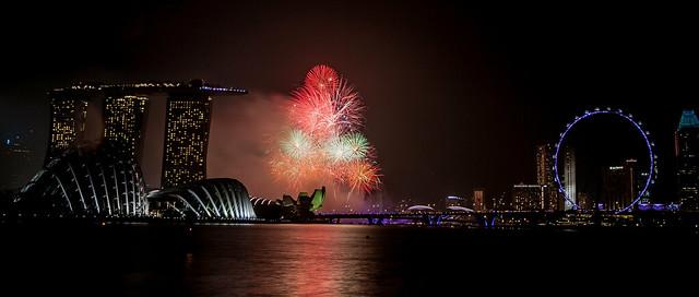 Marina Bay Firework 2014
