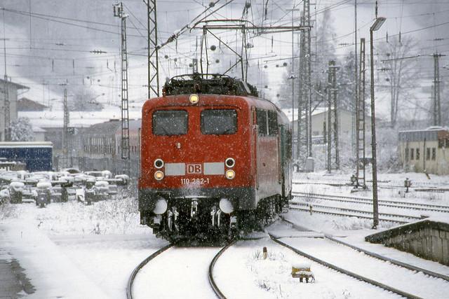 DB 110 282 - Garmisch-Partenkirchen