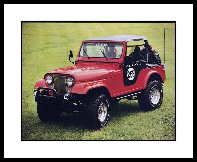 '76 Jeep CJ5, 1985
