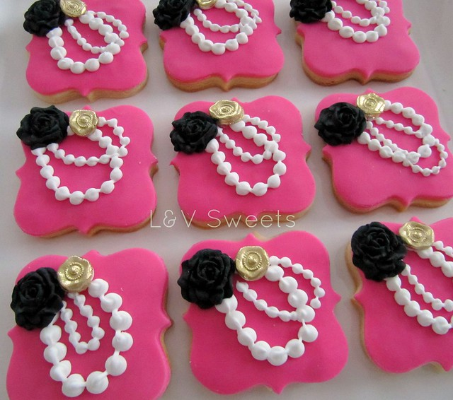 Pink & pearls