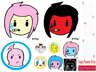 B Pop Poster Mix Ski Mask Logo Banner Poster Spwk Pee Wee Flickr