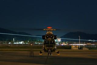 KUH-1 Surion Night Flight Test