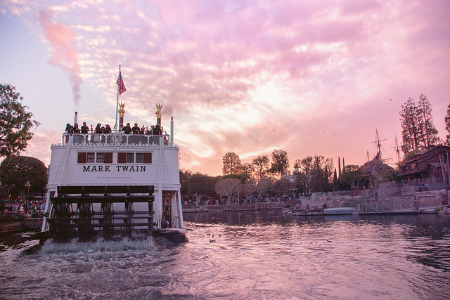 Rivers of America | Sunset