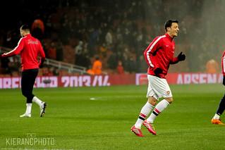 Mesut Ozil   by Kieran Clarke