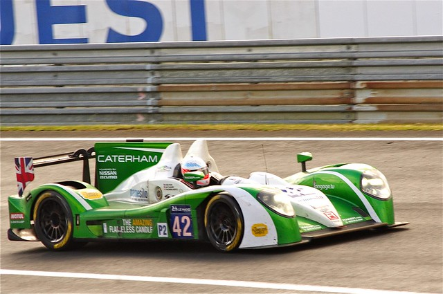 Caterham Racing's Zytek Z11SN Nissan Driven by Tom Kimber-Smith, Chris Dyson and Matt McMurry