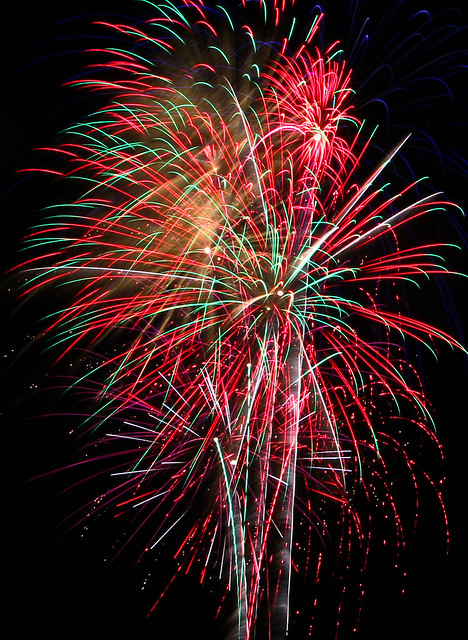 Full Frame Fireworks
