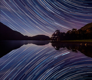 Buttermere startrails | by Alf Branch