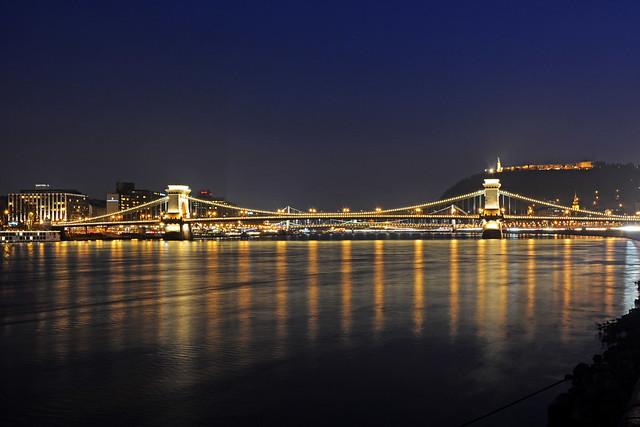 Chain Bridge ,Budapest ( Szechenyi Bidge )