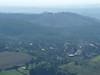 Výhled z Ronova na Blíževedly, na kopci kalvárie (Ostré), foto: Petr Nejedlý