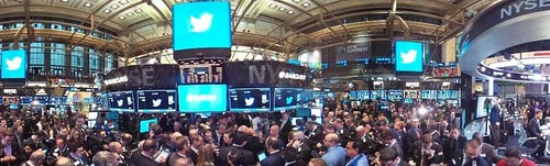 NYSE Twitter Cover | by n.bhupinder