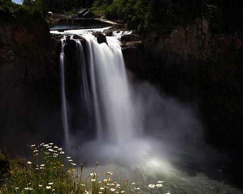 longexposure mist water river waterfall washington unitedstates falls snoqualmie ndfilter