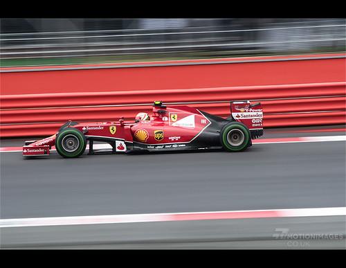 Kimi Raikkonen - Silverstone Formula 1 Grand Prix 2014 - 9942   by motion-images