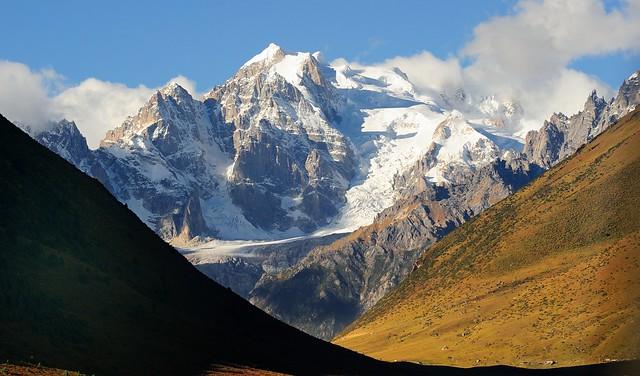 The Cho (Tro) Mountain Range, Derge county, Tibet 2013