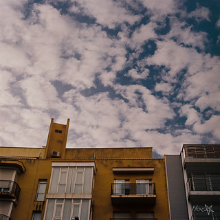 Clouds over Santa Coloma de Gramenet, Barcelona, Spain. | by Red Grave - Photographer