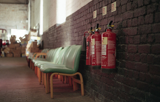 FILM - A safe seat in the event of a fire
