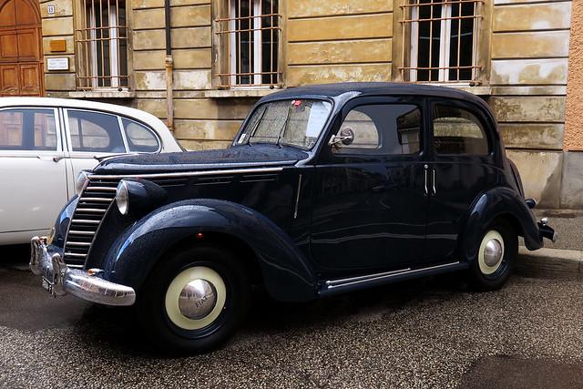FIAT model 1100 (year 1952)