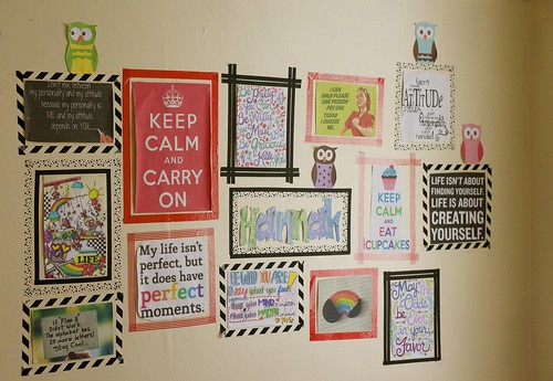 Hannahs wall | by Sahrish~Creating Individuality