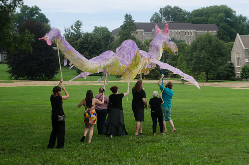 Dragon descends on Swarthmore College