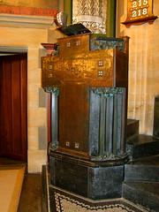 Art Nouveau pulpit