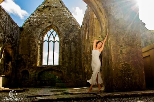 light sky sun colour church stone club clouds canon model ruins linen silk sensual connemara 7d sunflare greystonescameraclub clubtrip2013