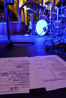 Ian Anderson with Adrian Edmondson Christmas Concert St John's Church Oxford England December 19th 2013
