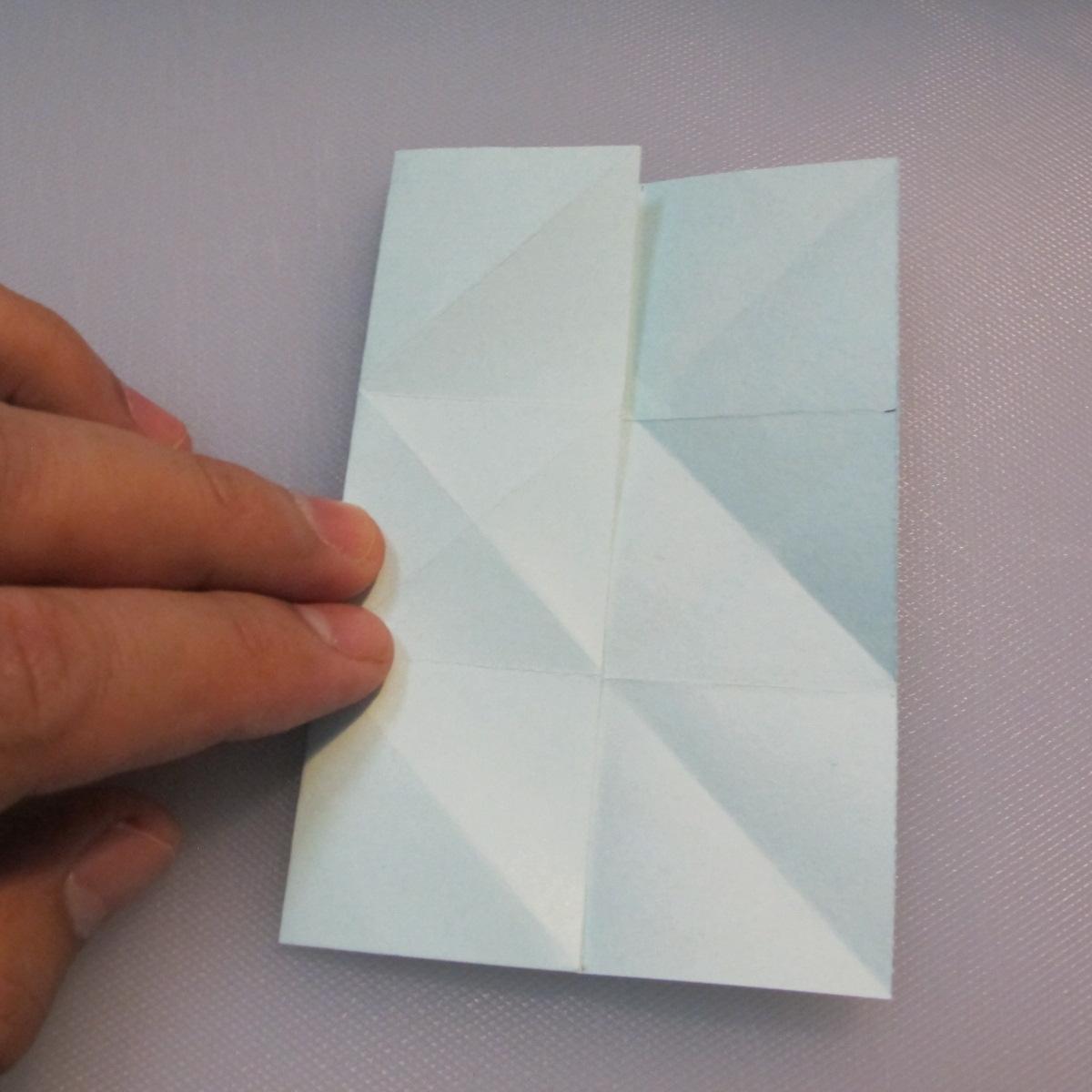 การพับกระดาษรูปดาวกระจาย (Star Origami – スターの折り紙) 007