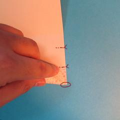 วิธีพับกระดาษเป็นผีเสื้อหางแฉก 004