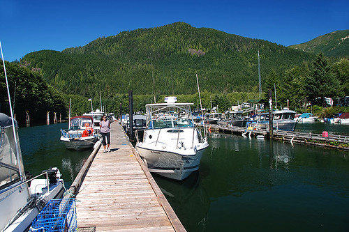 Port Renfrew Marina, Port Renfrew, South Vancouver Island, British Columbia, Canada