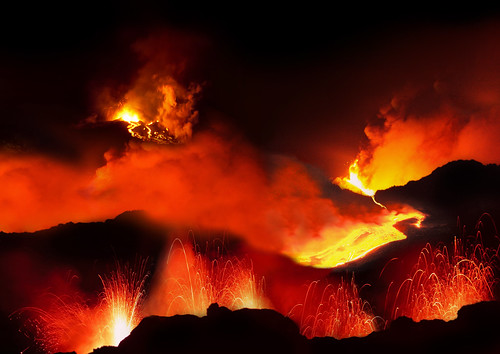 Volcanic Eruption (Fantasy) | by Maxwell Hamilton