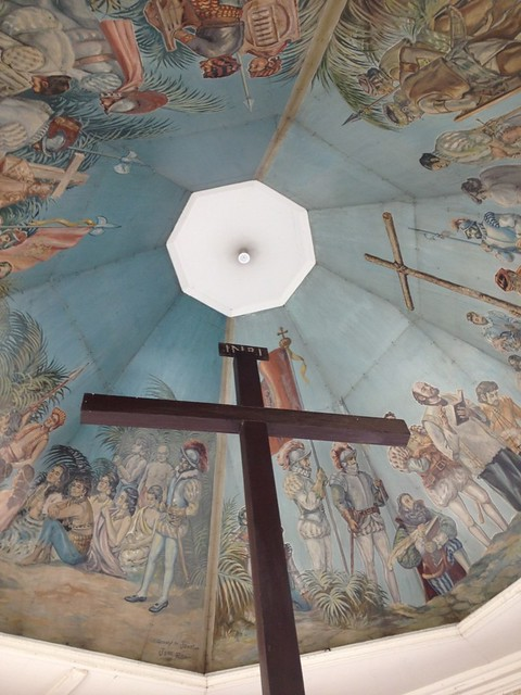 Magellan's cross which dates back as early as 1521 when the Philippines was colonized by Spain