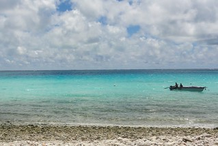 Seascape in Terio, Kiribati, 2011. Photo: Erin Magee / DFAT | by DFAT photo library