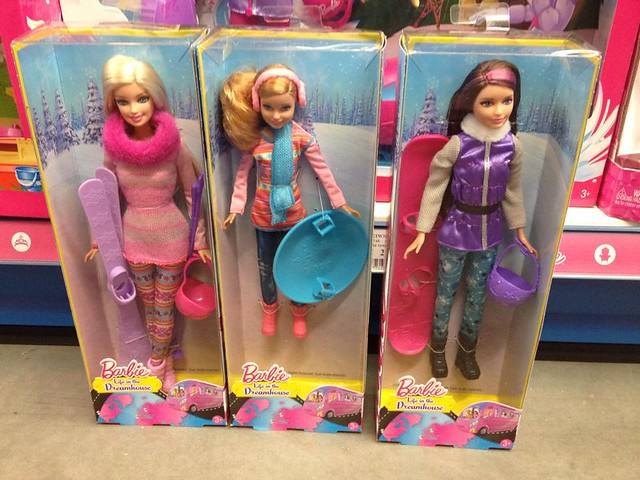 Barbie, Stacie and Skipper Winter Sport/Vacation