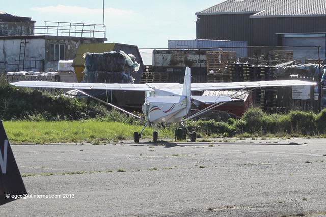G-CHLZ - 2013 build Bestoff Skyranger, parked up at Rufforth