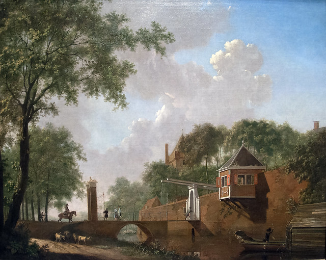 The Moat & Drawbridge, c. 1670