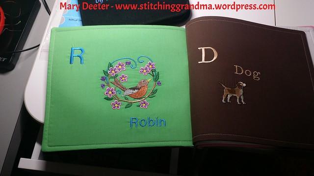 Robin and Dog