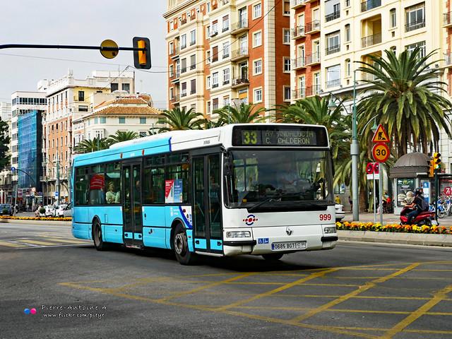 Hispano Citybus E (Renault Agora S) - EMT 999