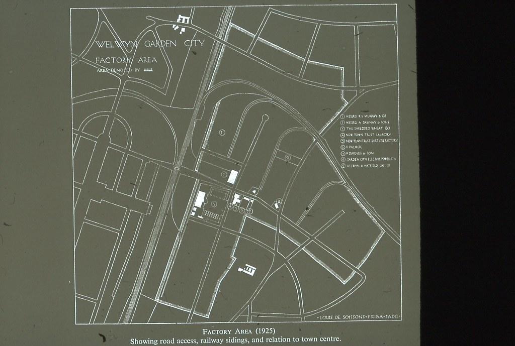 Welwyn Garden City Industrial Estate 1925 The Garden City Flickr