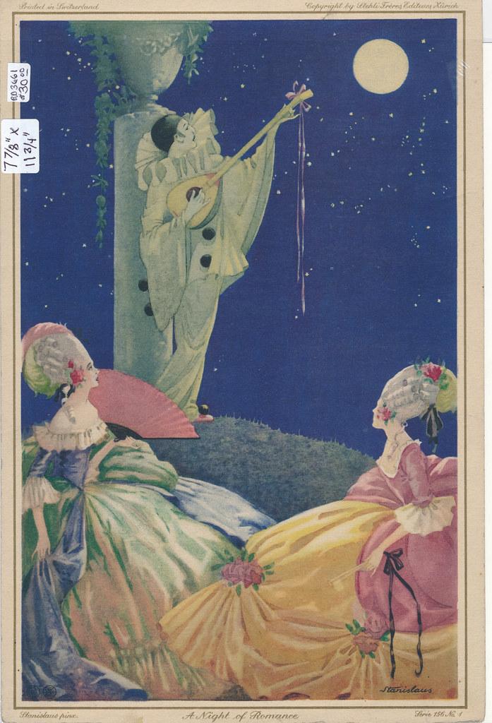 RD3661 Stehli Freres Zurich Switzerland Stanislaus - A Night of Romance 156 No. 1
