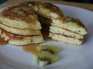 Kiwifruit Pancake Stack | by Ni-Cola