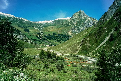 Cycle tour of French Alps: Cormet de Roselend