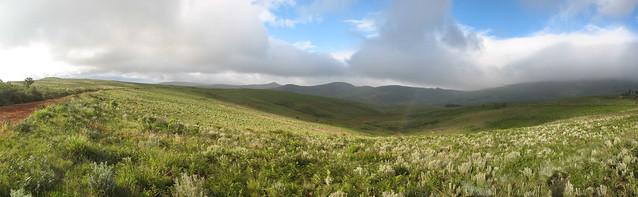 hills, clouds & light