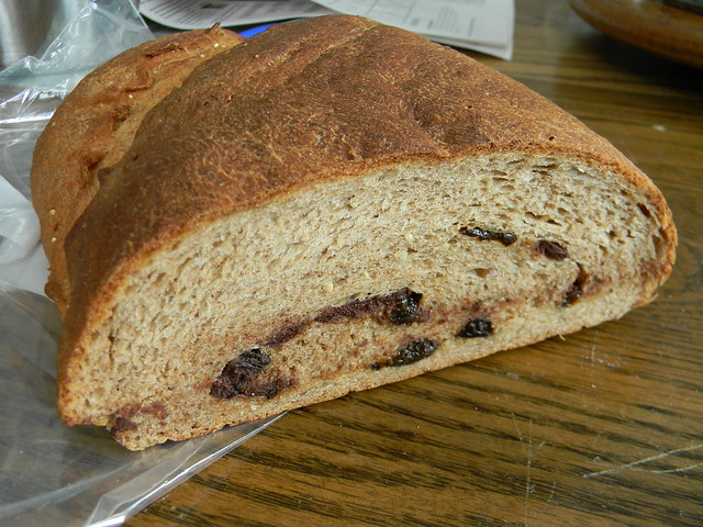 Chocolate Almond Prune Bread