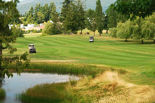 Arbutus Ridge Golf Club, Cobble Hill, Cowichan Valley, Vancouver Island, British Columbia