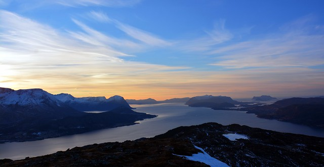Where five fjords meet