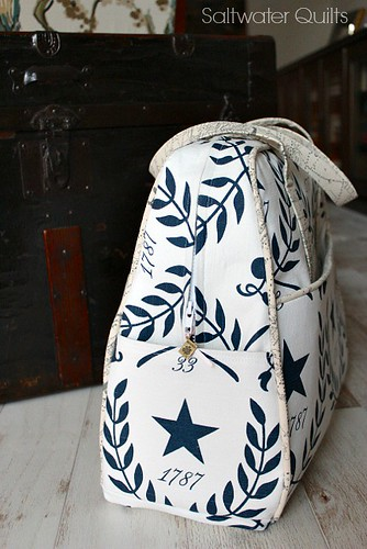 Star Weekend Bag | by Saltwater Quilts
