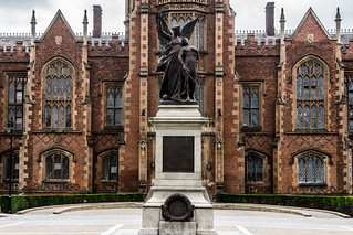 This War Memorial is situated on the grounds of Queen's University in Belfast [Northern Ireland] | by infomatique
