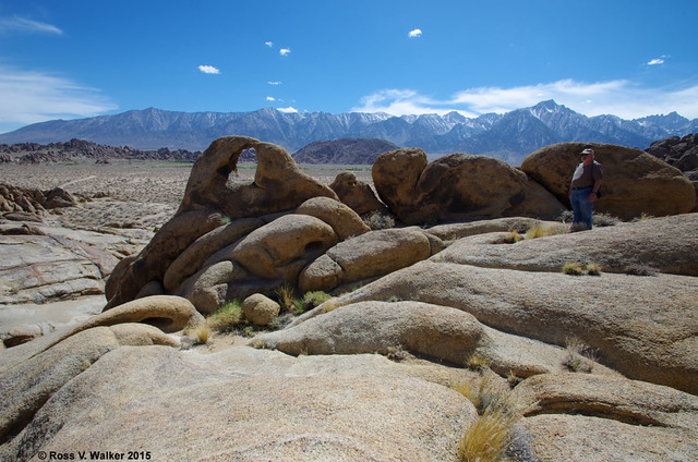 Bruce Gregory at Alabama Hills