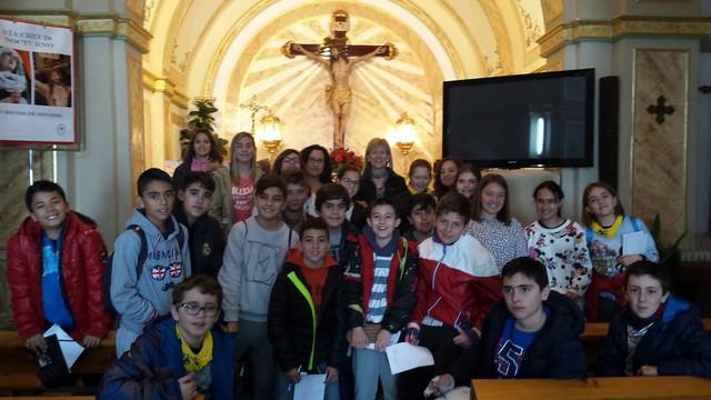 (2016-03-18) - aVisita ermita alumnos Pilar, profesora religión 9´Octubre - María Isabel Berenguer Brotons (01)