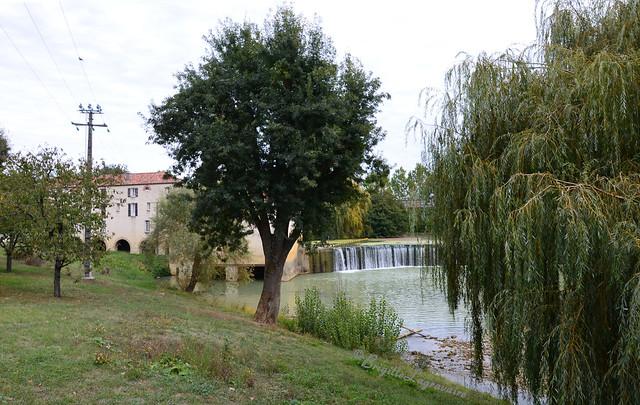 Layrac, le moulin sur le Gers (Lot-et-Garonne)