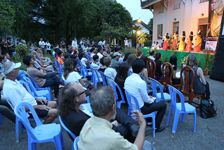 The second annual Kampot Writers and Readers Festival kicked off on November 3, 2016, launching five-days of events that include poetry slams, literary workshops, book readings, and musical performances. | by USEmbassyPhnomPenh